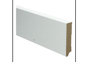 Whiteline plint recht 90x15 wit gefolied
