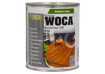WOCA Exterior Oil Grijs 0,75 L