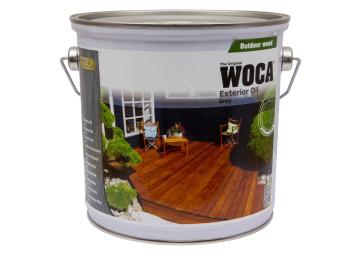 WOCA Exterior Oil Grijs 2,5 L