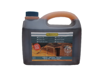 WOCA Master Colour Oil 101 light brown 2,5 L