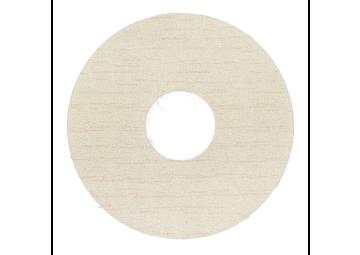 Zelfklevende rozet (17 mm) ahorn wit (10 st.)