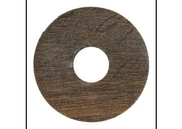 Zelfklevende rozet (17 mm) Country Oak brown (10 st.)