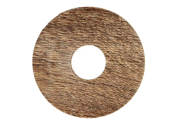 Zelfklevende rozet (17 mm) eiken geb. bruin (10 st.)