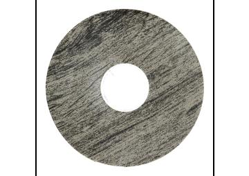 Zelfklevende rozet (17 mm) eiken geborst. grijs (10 st)