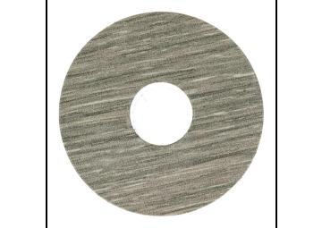 Zelfklevende rozet (17 mm) eiken grijs geolied (10 st.)