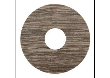 Zelfklevende rozet (17 mm) eiken grijs gerookt (10 st.)