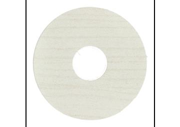 Zelfklevende rozet (17 mm) elzen wit (10 st.)