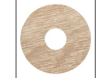 Zelfklevende rozet (17 mm) gebleekt eiken (10 st.)