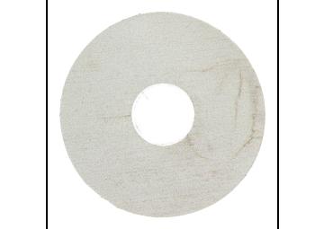 Zelfklevende rozet (17 mm) gel. grenen sneeuw (10 st.)