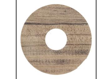 Zelfklevende rozet (17 mm) grenen geb. bruin (10 st.)