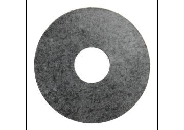 Zelfklevende rozet (17 mm) metallic slate (10 st.)