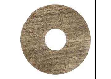 Zelfklevende rozet (17 mm) modern eiken bruin (10 st.)