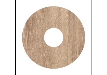 Zelfklevende rozet (17 mm) Mountain Oak l. grey (10 st)