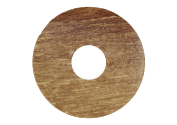 Zelfklevende rozet (17 mm) Mountain Oak nature (10 st.)