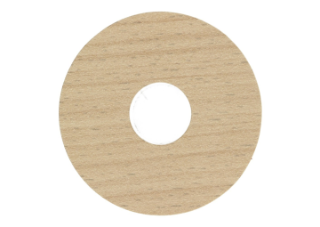 Zelfklevende rozet (17 mm) new england oak (10 st.)
