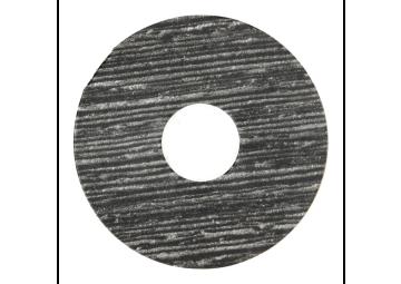 Zelfklevende rozet (17 mm) Scarlet Oak black (10 st.)