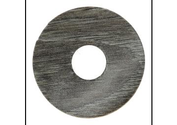 Zelfklevende rozet (17 mm) Scarlet Oak dark grey (10st)