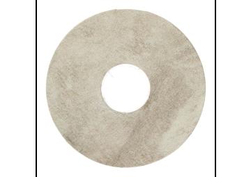 Zelfklevende rozet (17 mm) Sicilian Slate grey (10 st.)