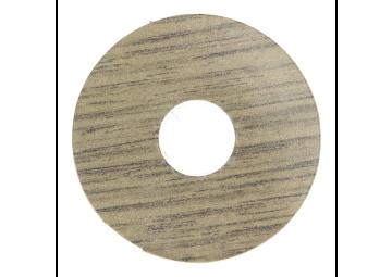 Zelfklevende rozet (17 mm) traditional oak (10 st.)