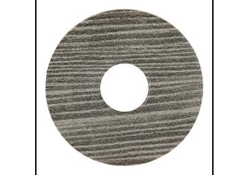 Zelfklevende rozet (17 mm) vergrijsd grenen (10 st.)