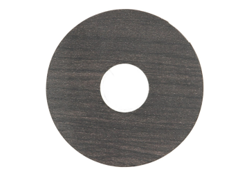 Zelfklevende rozet (17 mm) wengé zwart (10 st.)