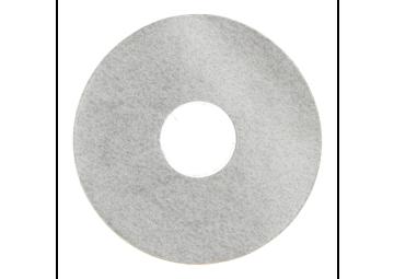 Zelfklevende rozet (17 mm) zand licht (10 st.)