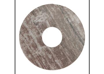 Zelfklevende rozet(17 mm) patchwork cappuccino (10 st.)