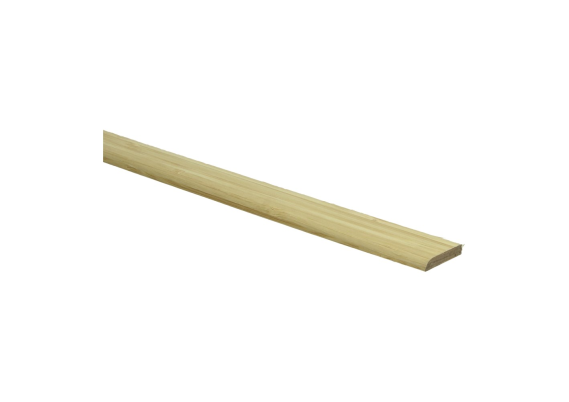 Afwerklijst 5 mm x 24 mm plakstrip fineer bamboe naturel gelakt