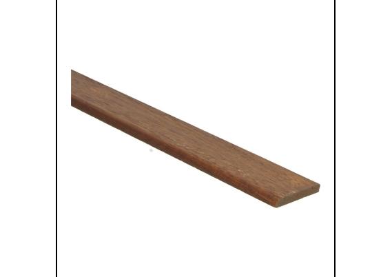 Afwerklijst 6x35 mm mahonie geolied