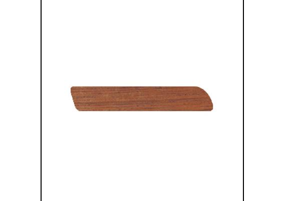 Afwerklijst 6x35 mm mahonie onbewerkt