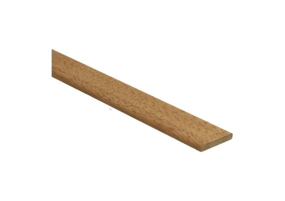 Afwerklijst 6x35 mm robijn geolied