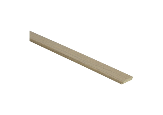Plakplint verweerd grenen 5x24 mm
