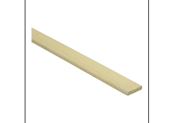 Bamboe afwerklijst 5x25 mm naturel gelakt
