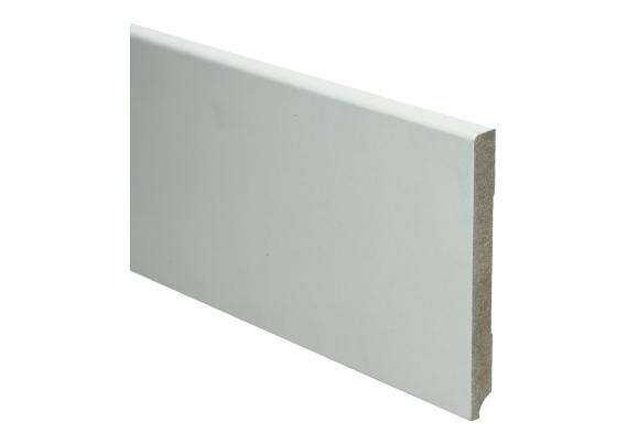 BL MDF plint 120x12 V313 wit gegrond recht