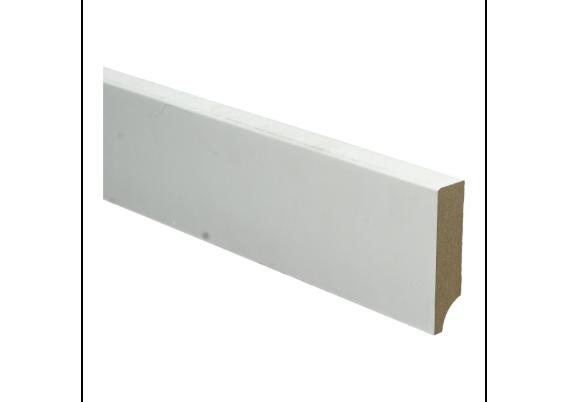 BL MDF plint 90x15 V313 wit gegrond recht