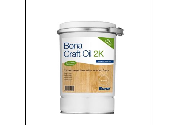 Bona Craft Oil 2K Invisible 1,25 L