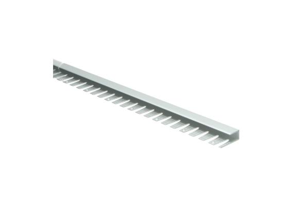 Buigbaar U-profiel 9 mm alu zilver
