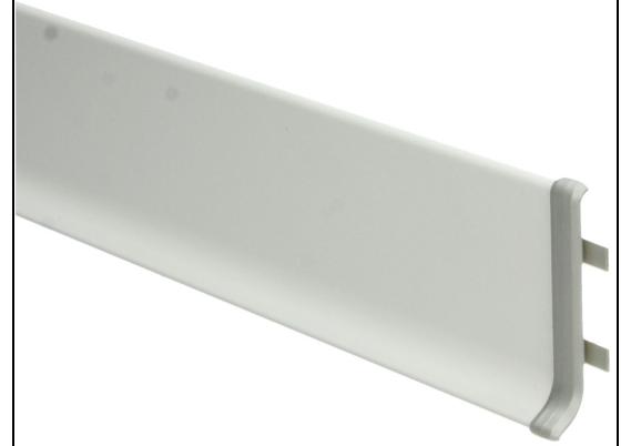 Elegante Koppelstuk aluminium 100 mm