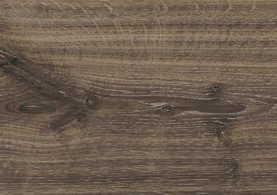 Embossed laminaat 4V-Groef Dark oak 12 mm