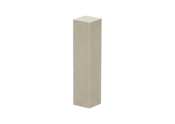 Hoek of eindstuk folie 4 stuks beige beton donker
