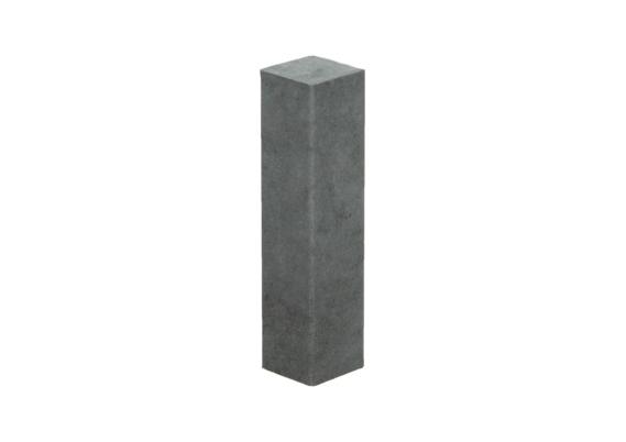 Hoek of eindstuk folie 4 stuks beton grijs