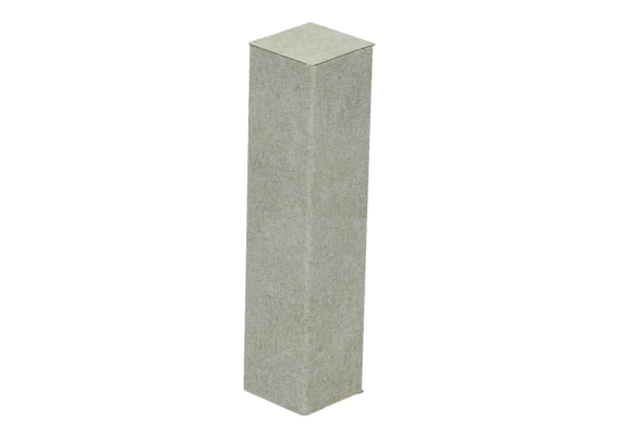 Hoek of eindstuk folie 4 stuks Valley Stone light grey