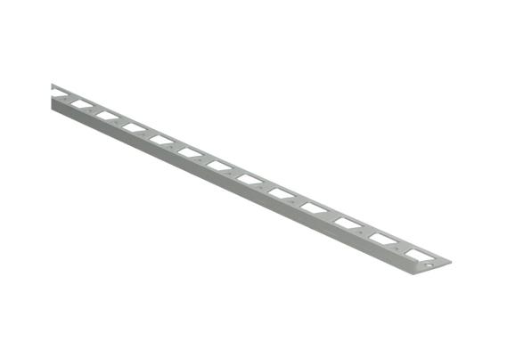 In-egaliseer eindprofiel tot 4,5mm PVC zilver