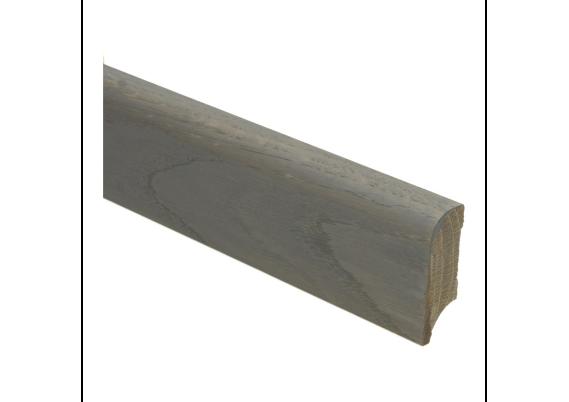 Koloniale plint 58x20 mm eiken grijs geolied