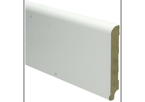 MDF Koloniale plint 120x18 wit voorgelakt RAL 9010
