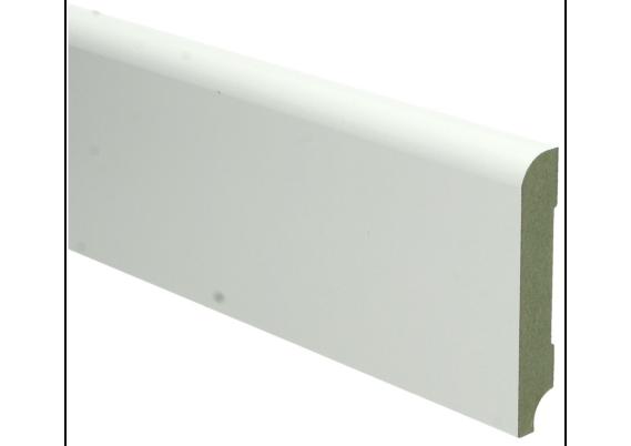 MDF Koloniale plint 90x15 wit voorgelakt RAL 9010