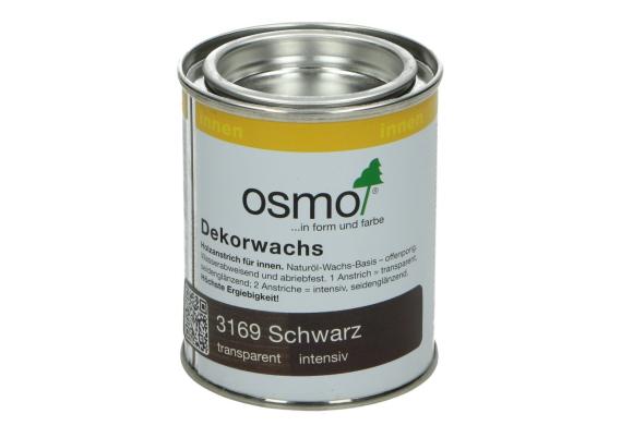 OSMO Decorwas Creativ 3169 zwart 0,125L