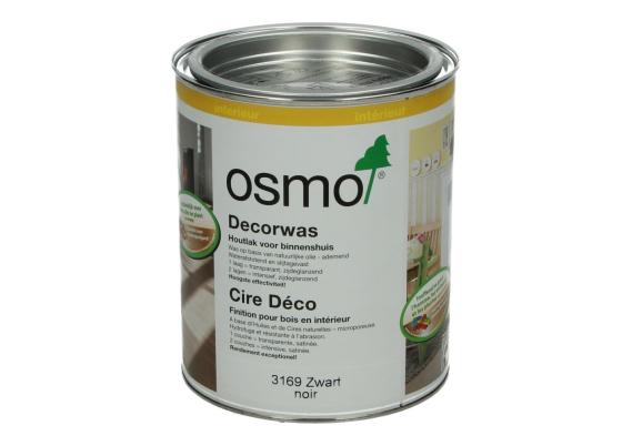 OSMO Decorwas Creativ 3169 zwart 0,75L