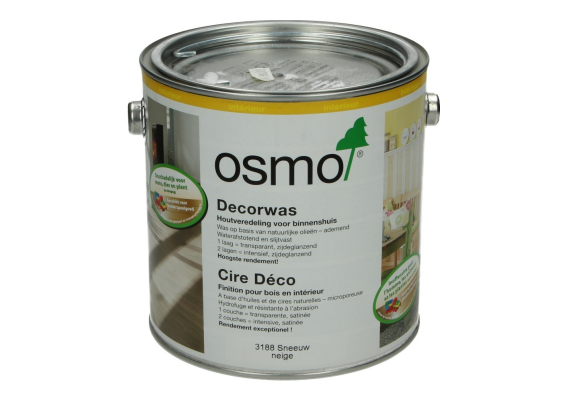 OSMO Decorwas Creativ 3188 Sneeuw 2,5L