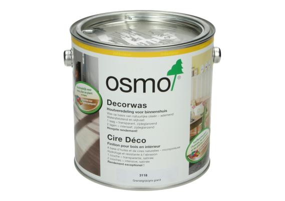 OSMO Decorwas TR3118 Granietgrijs 2,5L